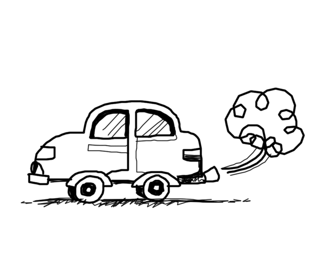 Doodle Auto Exhaust · Free image on Pixabay