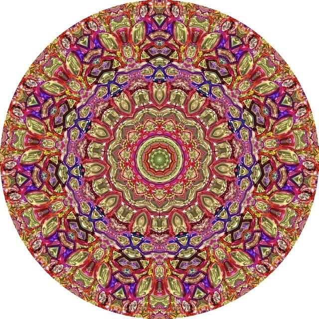 Metallic Mandala Circle Texture  Free image on Pixabay