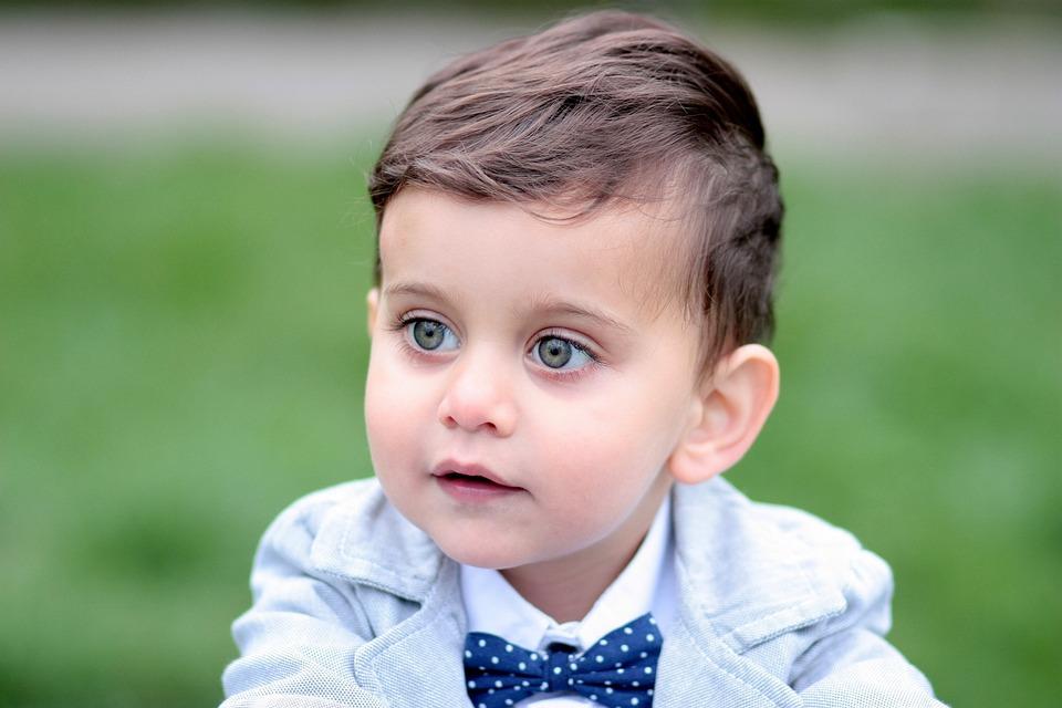 boy toddler green eyes