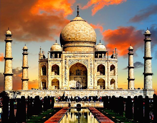 Taj Mahal India Free Photo On Pixabay