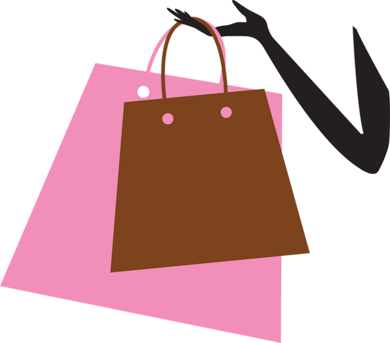 ショッピング, バッグ, ショッピング バッグ, 買い物中毒, 女性, 幸せ, モール, ギフト, 買い物客
