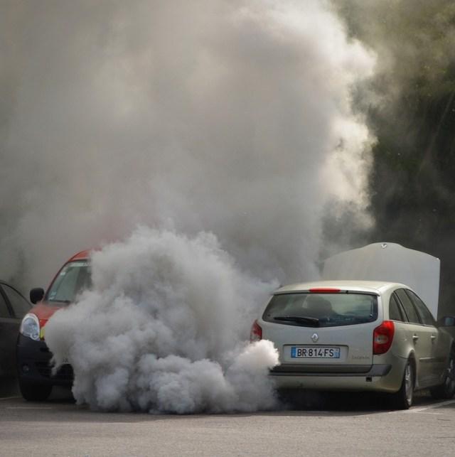 Auto, Dym, Panne, Smola, Uitaatgassen, Znečistenie