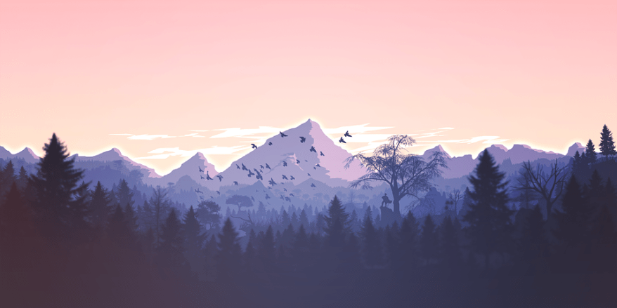 Mountains, Panorama, Forest, Mountain, Nature