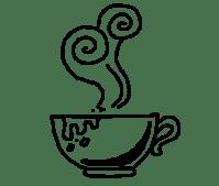 Kostenlose Illustration: Tee, Kaffee, Rauch, Gekritzel ...