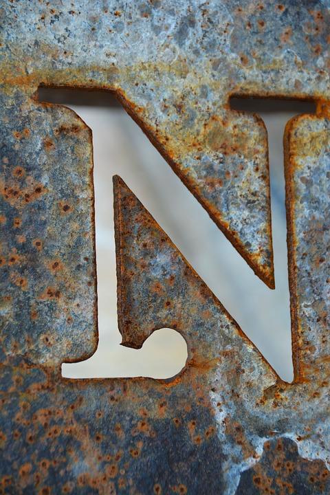 Huruf N Keren : huruf, keren, Letter, Alphabet, Photo, Pixabay