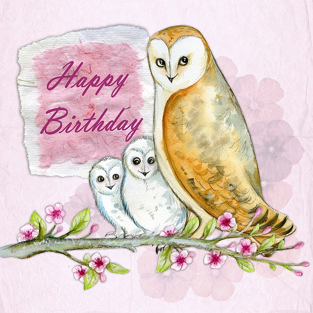 Happy Birthday Greeting Card · Free Image On Pixabay