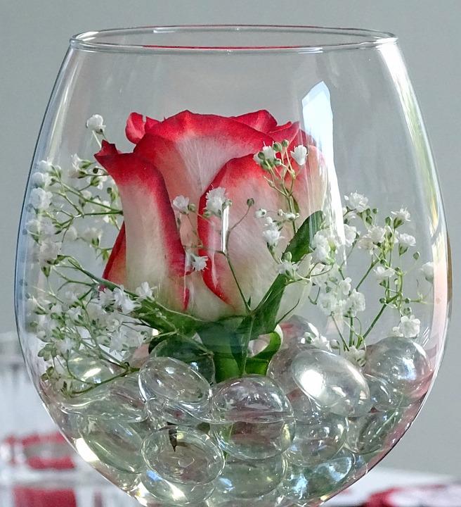 Kostenloses Foto Deko Rose Glas Weinglas  Kostenloses Bild auf Pixabay  1435319