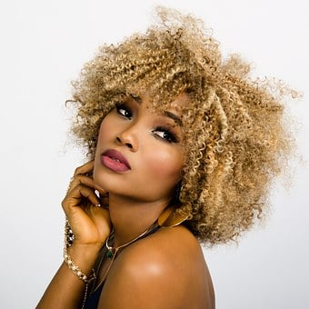 Woman, Face, Curly, Hair, Fashion, Girl