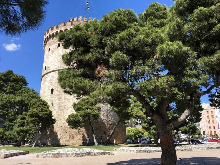 Θεσσαλονίκη, Ελλάδα, Ο Λευκός Πύργος, Πύργος, Τοπίο