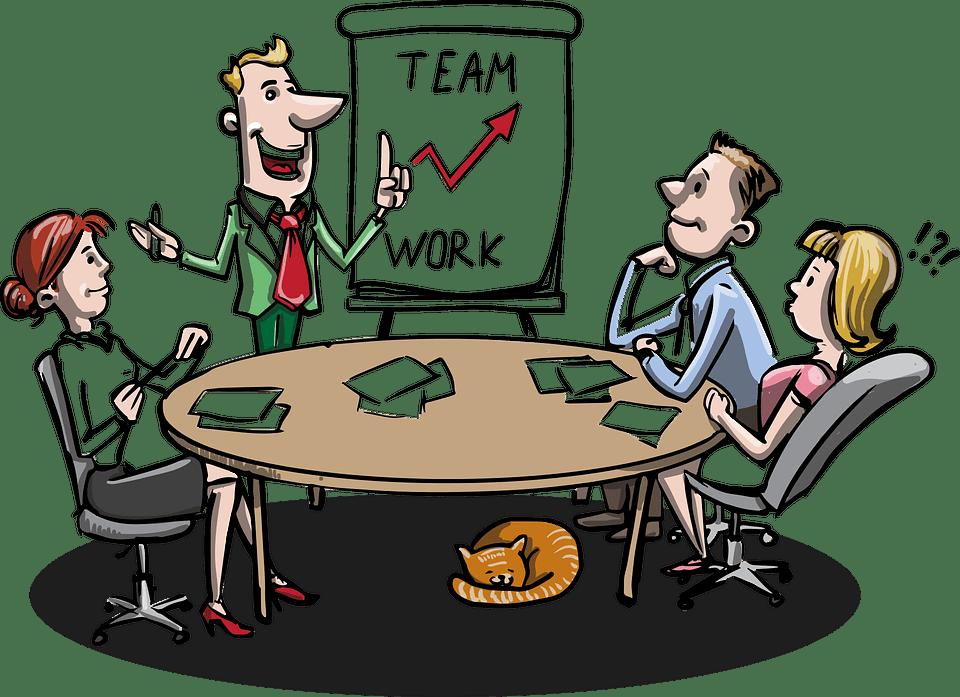 Reunión, Negocio, Lluvia De Ideas, Empresarios