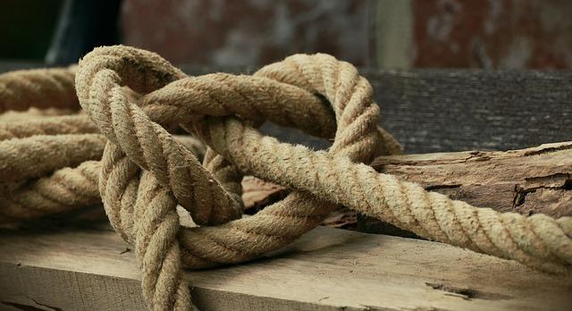 Free photo Rope Natural Rope Knot Knitting  Free