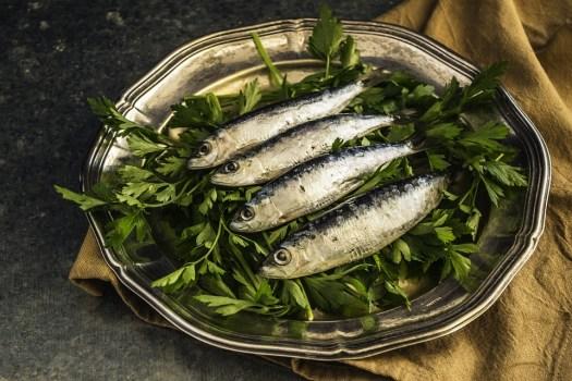 Sardine, Di Pesce, Pranzo, Sano, Piastra, Delizioso