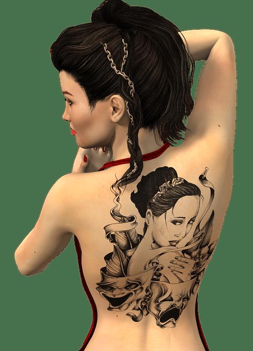 Tato Keren Di Tubuh Wanita Cantik : keren, tubuh, wanita, cantik, Wanita, Bergerak, Gambar, Gratis, Pixabay