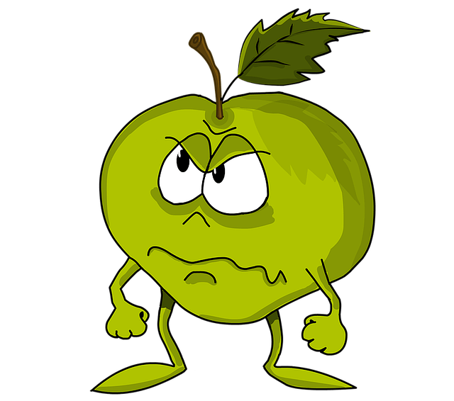 Gratis illustration Apple Frukt Grn Formidabel