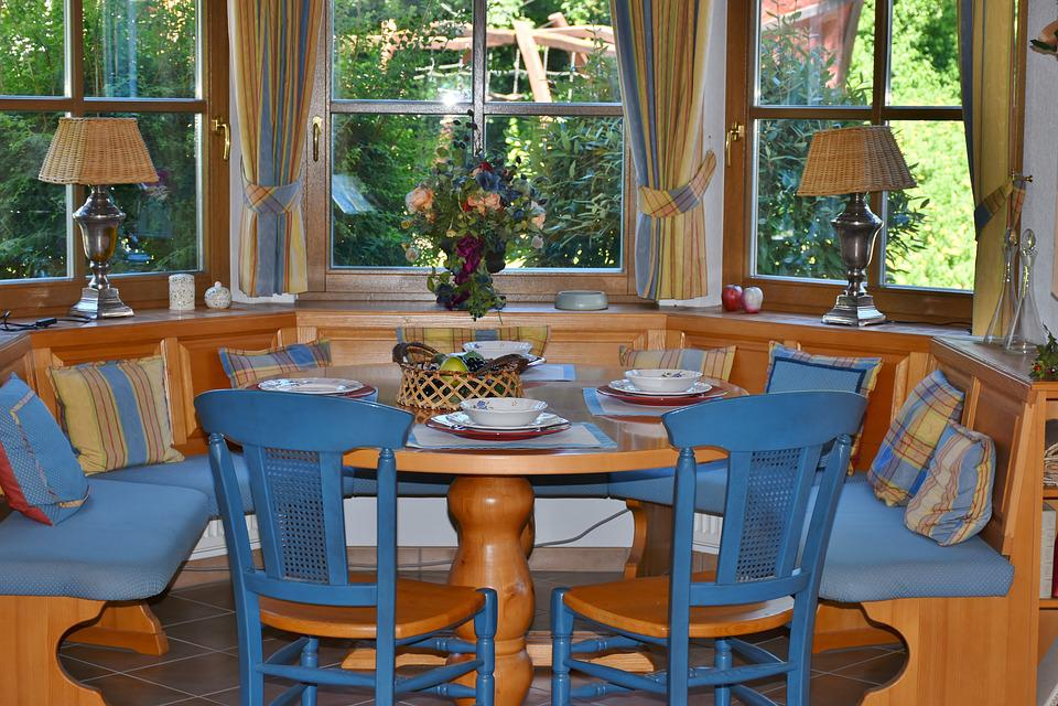 Dining Room Area Bay Window  Free photo on Pixabay