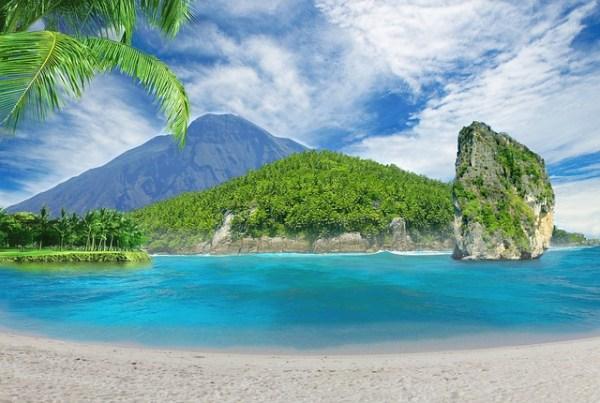 island beach fantasy landscape