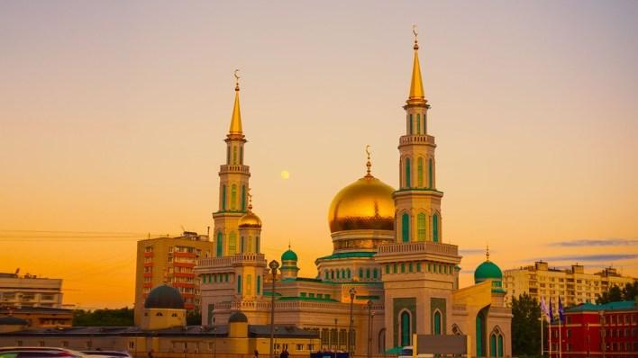 Mesquita Catedral De Moscovo, Mira, Ramadan, Céu