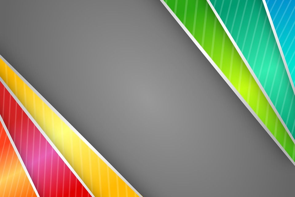 Free illustration Abstract Border Colorful Strips
