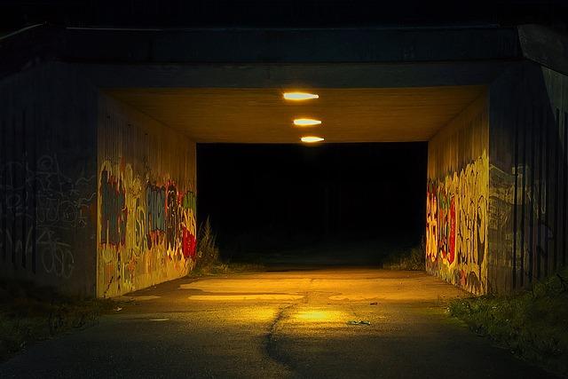 The Tunnel Night Grim 183 Free Photo On Pixabay
