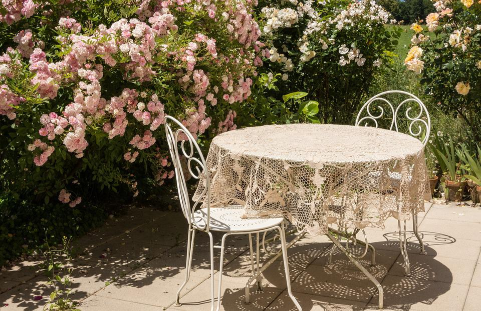 Table Chairs Garden