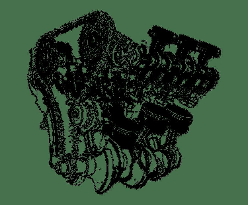Illustration gratuite: Isolé, Transparent, Plan, Moteur