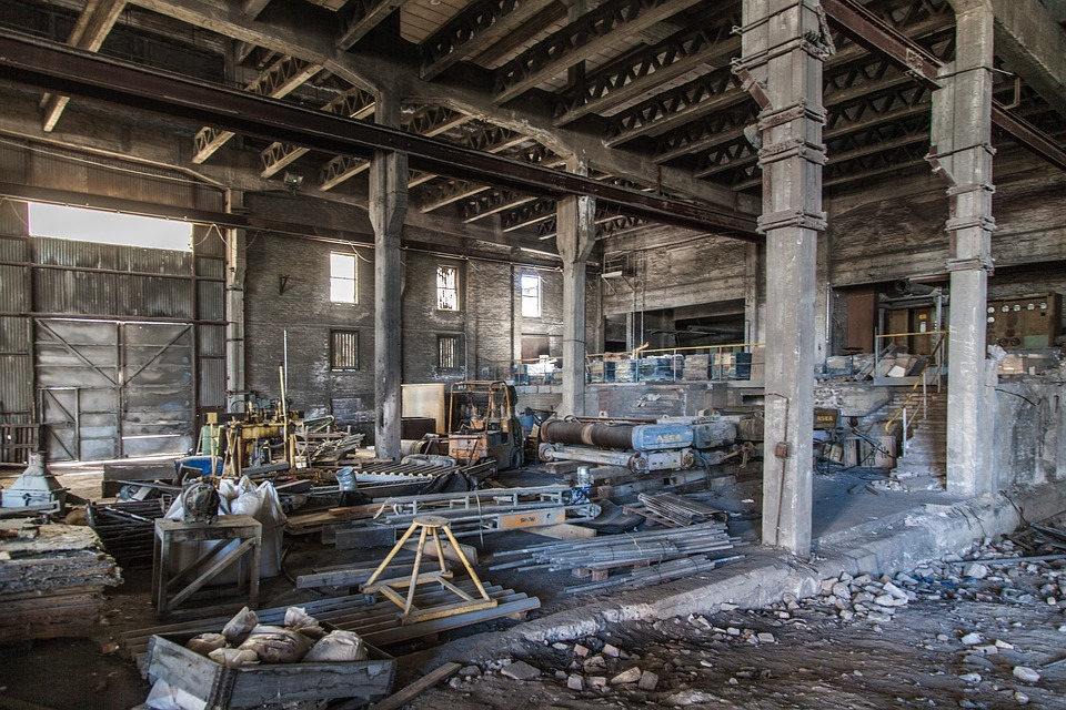 Abandoned Factory Empty Decay  Free photo on Pixabay