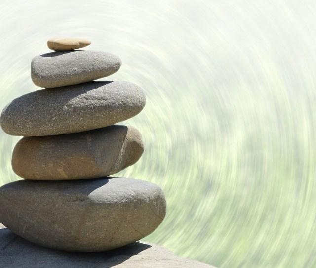 Feng Shui Meditation Garden Stones Zen  C B Public Domain