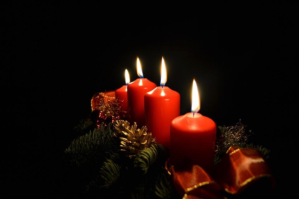 Free Xmas Wallpapers Animated Kostenloses Foto Advent Kerzen Licht Weihnachten