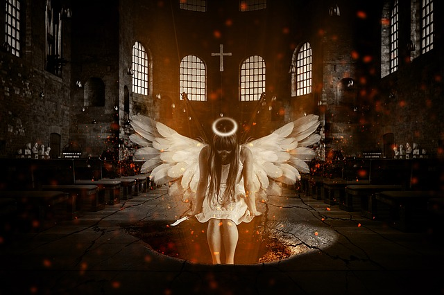 Angel Hell Church  Free image on Pixabay