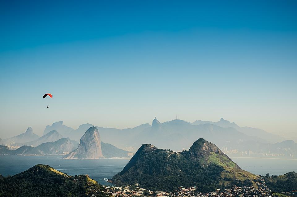 Rio De Janeiro, View, Landscape, Brazil, Mountains, Bay