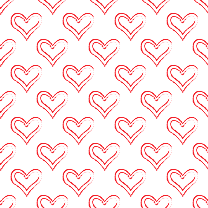 pattern transparent heart free