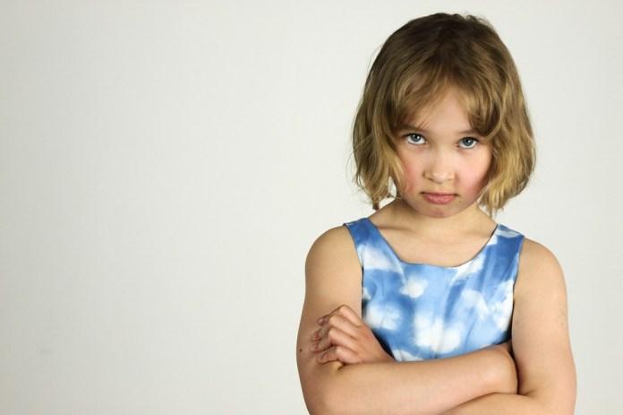 Gyermek, A Kislány, Harag, Rosszkedv