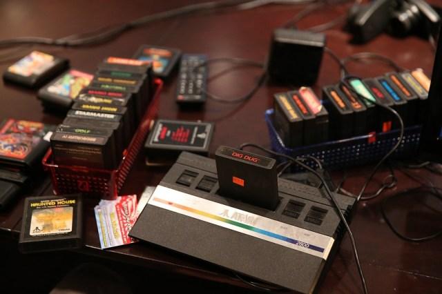 Atari 2600, Giochi D'Epoca, Dig Dug, 8 Bit, Cartucce
