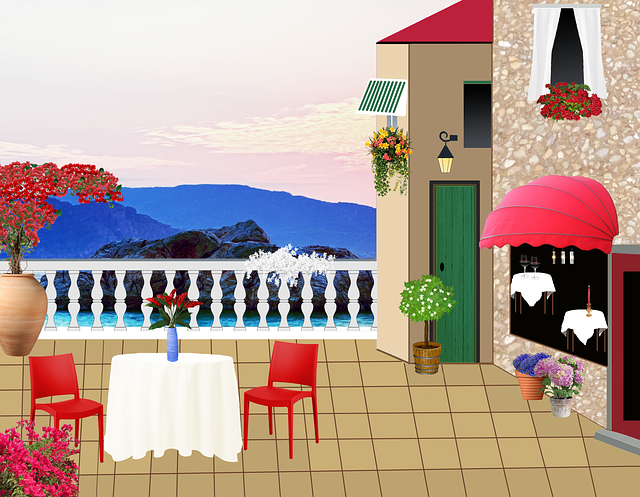 Restaurant Terrace  Free image on Pixabay
