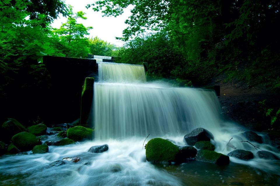 Kuang Si Falls Hd Wallpaper Water Waterfall Hamburg 183 Free Photo On Pixabay