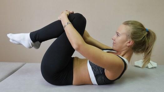 Esercizio, Colonna Vertebrale, Atleta, Donna, Yoga