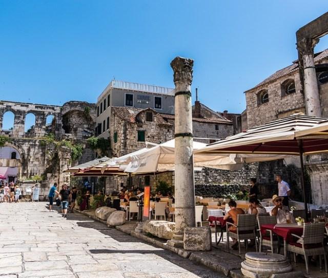 Split Croatia Architecture Town City Europe