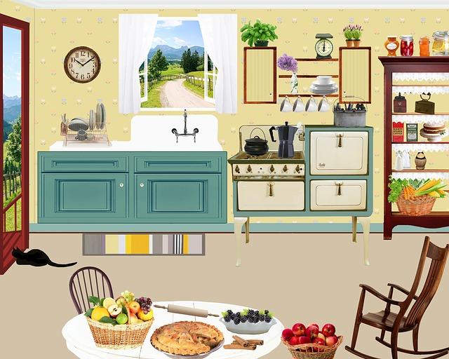 Free illustration Kitchen Vintage Retro  Free Image on