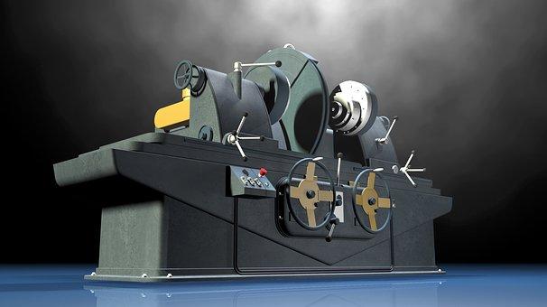 Lathe, Grinding Machine, Industry