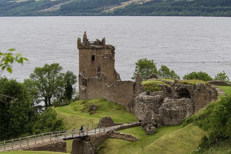 Kostenloses Foto Urqhart Castle Loch Ness Kostenloses