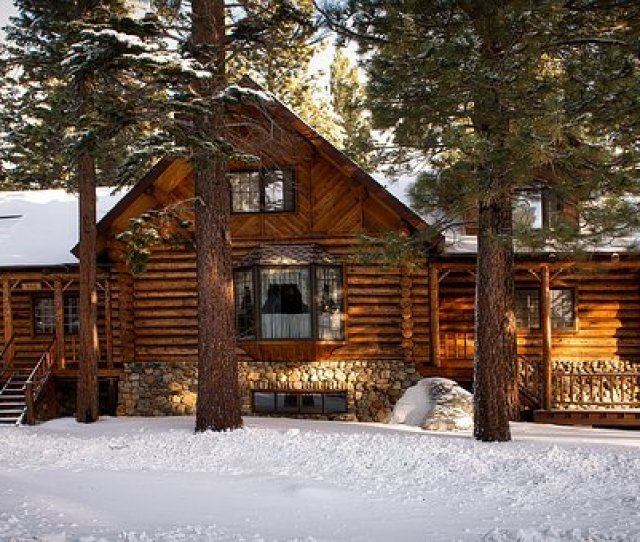 Log Cabin House Home Rural Rustic