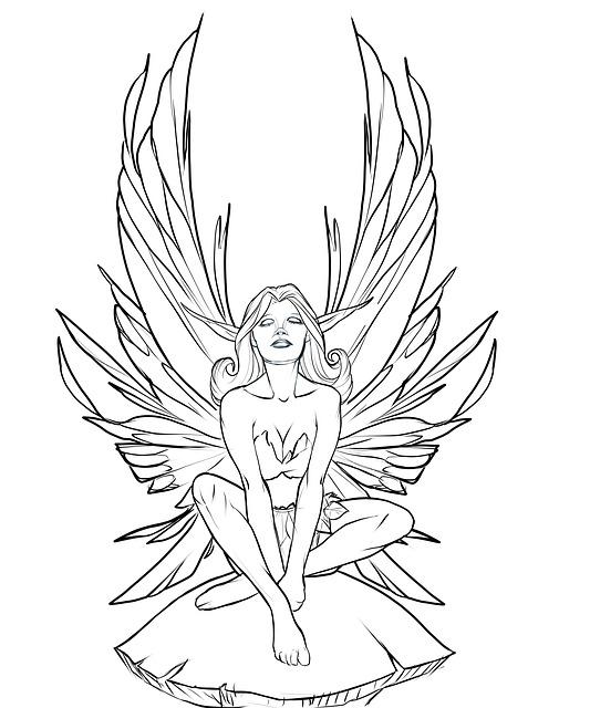 Fairy Faerie Mushroom · Free image on Pixabay