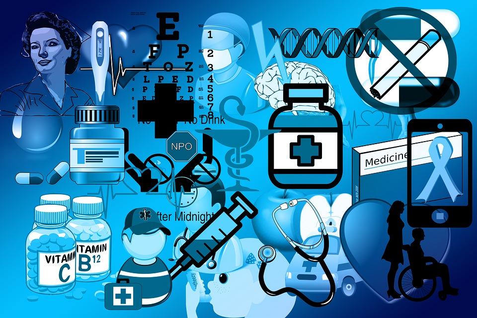 Medische, Hart, Curve, Cursus, Ad, Arts, Tegel, huidtherapie