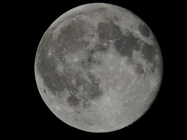 Free Photo Full Moon Outer Space Moonlight Free Image