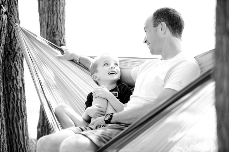 父, 息子, ハンモック, 少年, 子, 家族, 幸せ, 一緒に, 父と息子, 子ども, お父さん, 小児期