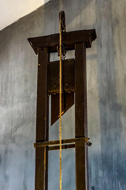 Free photo Guillotine Vietnam War Prison  Free Image