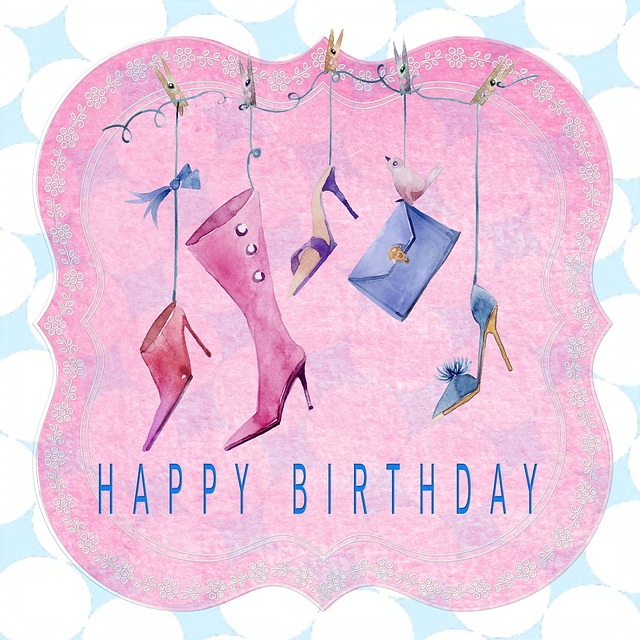 Birthday Card Happy Lady 183 Free Image On Pixabay