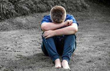 Boy, Child, Sad, Alone, Sit