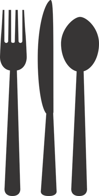 Silverware Plate Fork Free Vector Graphic On Pixabay