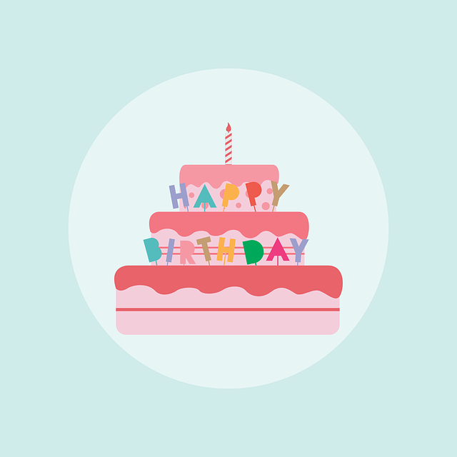 Birthday Cake Free Vector Graphic On Pixabay
